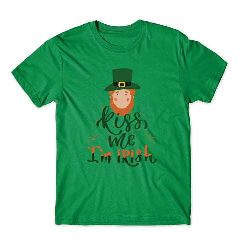 Kiss Me I Am Irish St Patrick's Day 2020 Funny T-Shirt-Gildan-Daataadirect.co.uk