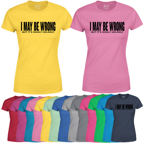 Funny Sarcastic Womens T Shirt Slogan Joke Novelty Birthday T-Shirt-Gildan-Daataadirect.co.uk