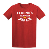 [daataadirect.co.uk]-Legends Are Born In July Mens T-Shirt-t-shirts-Gildan-Antique Cherry Red-S-Daataadirect