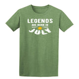 [daataadirect.co.uk]-Legends Are Born In July Mens T-Shirt-t-shirts-Gildan-Heather Military Green-S-Daataadirect