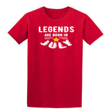 [daataadirect.co.uk]-Legends Are Born In July Mens T-Shirt-t-shirts-Gildan-Red-S-Daataadirect
