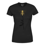 UK Summer Womens T Shirt Funny Bee Fashion Cute Birthday T-Shirt-Gildan-Daataadirect.co.uk