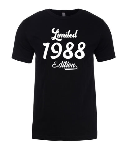 Limited 1988 Edition 31st Birthday Mens T-Shirt-Gildan-Daataadirect.co.uk