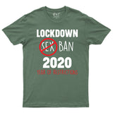 Funny Lockdown 2020 Year of Restrictions Dad Mum T-shirt-Gildan-Daataadirect.co.uk