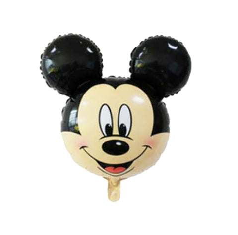 "24"" Mickey Head Minnie Head Balloon Birthday Party Holiday Decoration Aluminum Foil Balloon-Puppy Kitty Balloons-Daataadirect.co.uk"