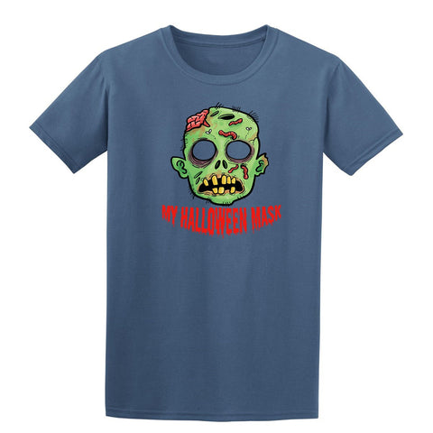 My Halloween Mask Kids T-Shirt-Gildan-Daataadirect.co.uk