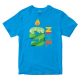 9th Birthday Kids T-shirt Age Nine Years Boys Girls Birthday T-Shirt-Gildan-Daataadirect.co.uk