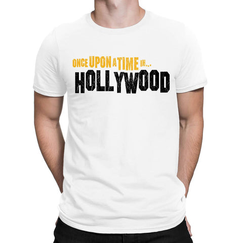 Once Upon A Time Hollywood Movie Mens T-Shirt-Gildan-Daataadirect.co.uk