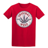 Original Weed Mens T-Shirt-Gildan-Daataadirect.co.uk
