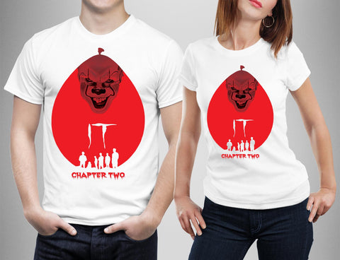 Want a Balloon Joker T-Shirts IT CHAPTER 2-Gildan-Daataadirect.co.uk