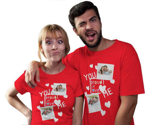 Valentine's Day Personalised T-shirt-Gildan-Daataadirect.co.uk