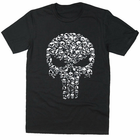 Bodybuilding Top Punsiher Skull Training UFC T-shirt-Gildan-Daataadirect.co.uk