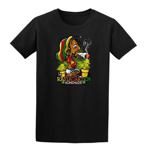 RASTA GARDEN Mens T-Shirt-Gildan-Daataadirect.co.uk