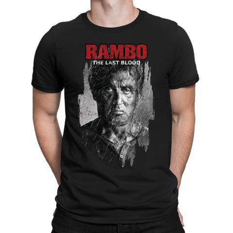 Rambo Last Blood T-Shirt-Gildan-Daataadirect.co.uk