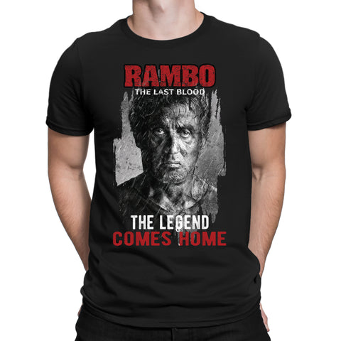 Legend come home Rambo Last Blood T-Shirt-Gildan-Daataadirect.co.uk
