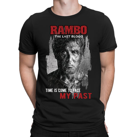 Time come to face past Rambo T-Shirt-Gildan-Daataadirect.co.uk