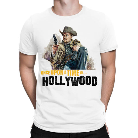 Rick Dalton Once Upon A Time Hollywood Mens T-Shirt-Gildan-Daataadirect.co.uk