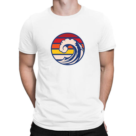 Ride The Wave Mens T Shirts