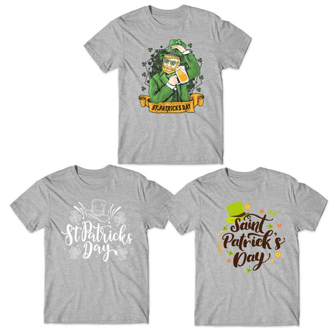 Festival Of Patrick T-Shirt - Cultural And Religious Celebration-Gildan-Daataadirect.co.uk
