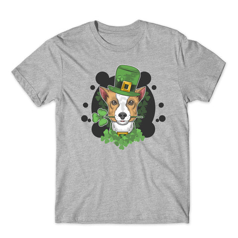 Saint Patrick Day Funny Dog T-Shirt-Gildan-Daataadirect.co.uk