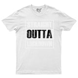 Straight Outta Lockdown Quarantine Mens T-Shirt 2020-Gildan-Daataadirect.co.uk