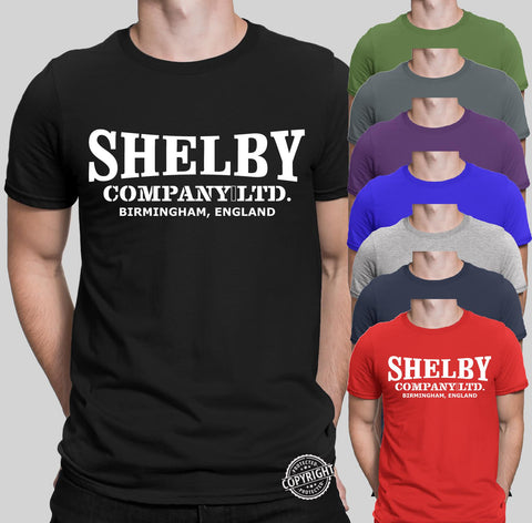 Shelby Company Limited Peaky Blinders T-Shirts-Gildan-Daataadirect.co.uk