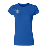 Lady Hale Spider Brooch T-Shirt - UK Politics Boris Johnson-Gildan-Daataadirect.co.uk