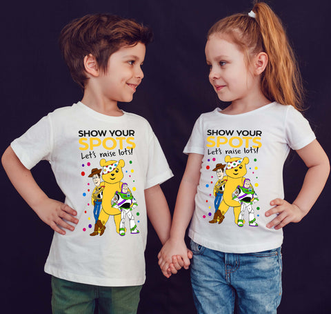 Toy Story Children In need Toy Story Kids T-Shirt-Gildan-Daataadirect.co.uk