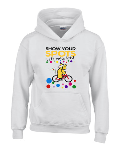 Pudsey Bear Bicycle - Kids Hoodies-Gildan-Daataadirect.co.uk