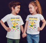 Oalf Spotty Day Cosmic Heroes Oalf Kids T-Shirt-Gildan-Daataadirect.co.uk