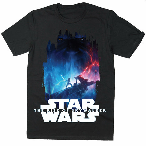 The war Lightsaber Darth Vader T-Shirts - Tie fighter T-Shirts-Gildan-Daataadirect.co.uk