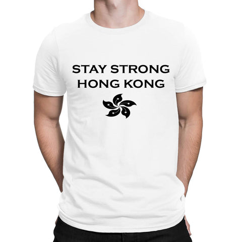 Stay Strong Hong Kong Mens T Shirts