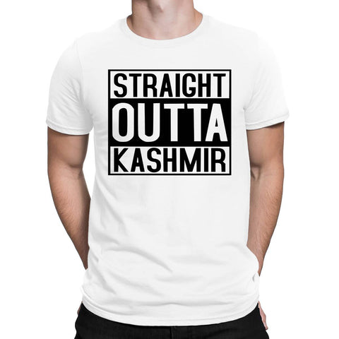 Straight Outta Kashmir Mens T Shirts