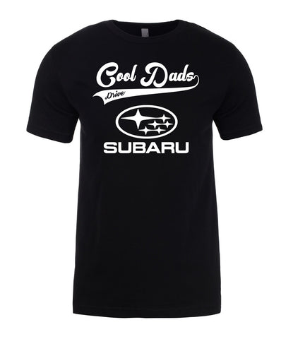 Subaru Cool Dads Drive Fathers Day Best Gift Present For Dad Mens T-Shirt-Gildan-Daataadirect.co.uk