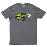 Car Caricature Suzuki Swift Sports T-Shirt-Gildan-Daataadirect.co.uk
