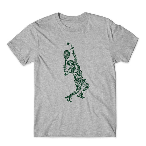 Tennis Ball Player T-Shirt-Gildan-Daataadirect.co.uk