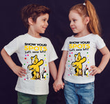 The Bugs Bunny Show Spotty Day Children In Need Kids T-Shirt-Gildan-Daataadirect.co.uk