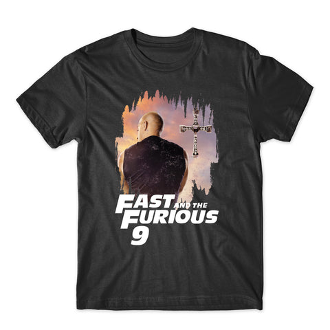 Vintage Fast & Furious 9 T-Shirts-Gildan-Daataadirect.co.uk