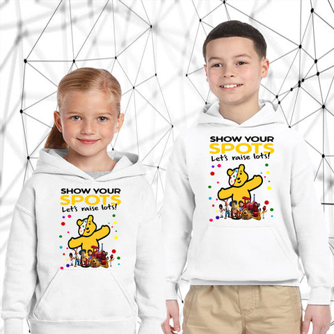 The Magic Roundabout Pudsey Bear - Kids Hoodies-Gildan-Daataadirect.co.uk
