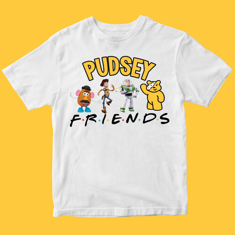 Toy Kids Pudsey Bear T-shirt-Gildan-Daataadirect.co.uk