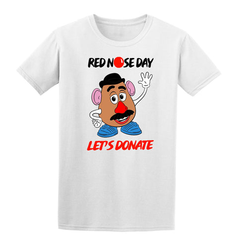 Toy Story Red Nose Day Boy Girl School Kids T-Shirt-Gildan-Daataadirect.co.uk