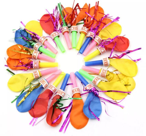 3Inch Whistle Balloons Boys Girls Party Bag Child Toys for Birthday Party Holiday-Puppy Kitty Balloons-Daataadirect.co.uk