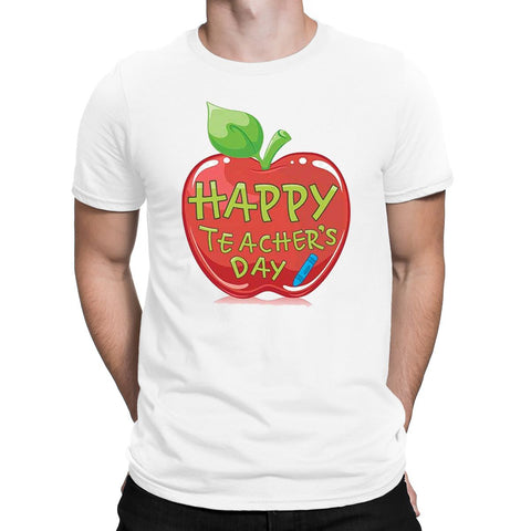 World Best Teachers Day T-Shirt-Gildan-Daataadirect.co.uk