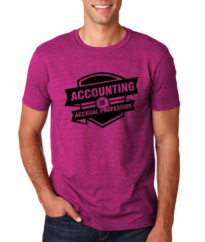 Accounting is profession Mens T Shirts Black-Gildan-Daataadirect.co.uk