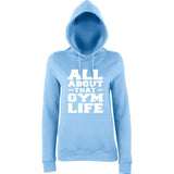 ALL ABOUT THAT GYM LIFE Women Hoodies White-AWD-Daataadirect.co.uk