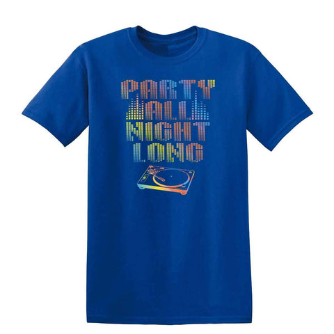 All Night Long 19013NBT2 Mens T Shirt-Gildan-Daataadirect.co.uk