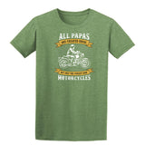 All Papas Are Created Equal Mens T Shirts-Gildan-Daataadirect.co.uk