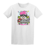 All You Need Football White Mens T Shirts-Gildan-Daataadirect.co.uk