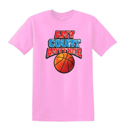 Any Court 19495D2 Kids T Shirt-t-shirts-Gildan-Light Pink-YXS-Daataadirect