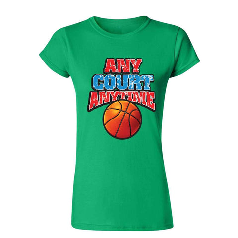 Any Court 19495D2 Womens T Shirt-Gildan-Daataadirect.co.uk